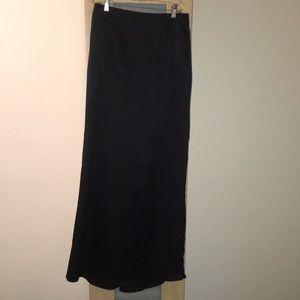 Floor Length Formal Skirt - Black